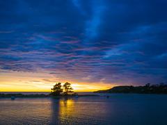 Morning in Karitane (RP Major) Tags: morning karitane new zealand south island nz sea clouds landscape sunrise sky boats