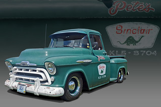 Pete's Sinclair - 1957 Chevy Pickup