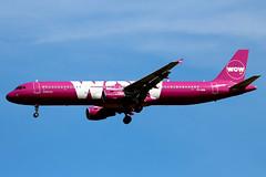 TF-SON Airbus A321-211SL WOW  LGW (Jetstar31) Tags: tfson airbus a321211sl wow lgw