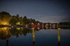 Stille Nacht (Rafael Zenon Wagner) Tags: nacht see wasser natur boot spiegelung bootshaus deutschland langzeitblichtung nikon d810 sigma 35mm night lake water nature boat reflection boathouse germany longtermexposure
