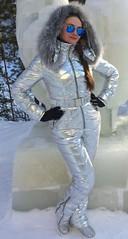 odri silver (skisuitguy) Tags: skisuit snowsuit ski snow suit skiing skifashion skiwear skidress skioutfit skianzug skibunny snowbunny onepieceskisuit onesie onepiecesuit onepiece skisuits kombez kombinezon