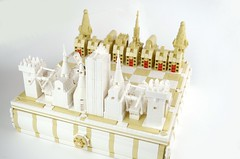 2018 - lego architecture chess with storage drawer -  IMGP7990f (deborah higdon - buildings blockd) Tags: lego chess game france thenetherlands french dutch king queen rook knight bishop pawn windmill eiffeltower arcdetriomphe bridge church tower canal house