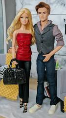 Summer Weckhen and Douglas Mason (Fake Royalty) Tags: barbie basics collection 1 ken star trek