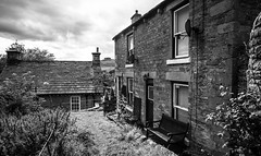 Middleton in Teesdale . (wayman2011) Tags: canon5dlightroom5 colinhart wayman2011 bwlandscapes mono rural villages houses pennines dales teesdale middletoninteesdale countydurham uk