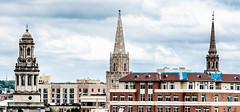 Three spires (vpickering) Tags: churches spires church spire