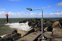 lands end I (Rasande Tyskar) Tags: thorsminde dänemark danmark sea ocean nordsee north water wasser meer mole boje seezeichen lampe lamp light signal