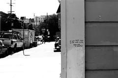 Tag / Balmy Alley & 25th St - San Francisco, Californie (Ludovic Macioszczyk Photography) Tags: tag balmy alley 25th st san francisco californie nikon fm 135 kodak tmax 400 iso mai 2018 étatsunis © ludovic macioszczyk usa film argentique lumière 35mm noir et blanc monochrome california voyage vacances grain bay area sf street view amérique mission district photography analog ville city life
