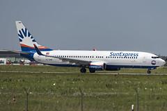 Sunexpress TC-SNR (Andreas Gugau) Tags: stuttgart flughafen airport planespotting planes aircraft edds str flughafenstuttgartedds badenwuerttemberg deutschland sunexpress boeing 7378hc 738 737 tcsnr