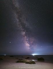 Philbin Pano (jeremyzolkowski) Tags: milkyway night nightsky nightscape nightphoto nightphotography astro astrophotography sea ocean atlantic atlanticocean