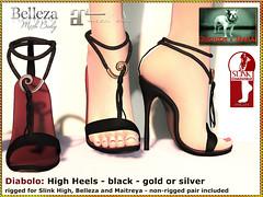 Bliensen - Diabolo - High Heels black (Plurabelle Laszlo of Bliensen + MaiTai) Tags: fetish bdsm highheels stilettos pumps shoes domina domme kink kinky burlesque