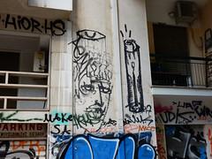 Fire (aestheticsofcrisis) Tags: street art urban intervention streetart urbanart guerillaart graffiti postgraffiti athens athen attiki athina greek greece europe eu exarcheia exarchia