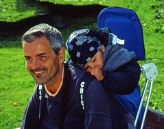 Gita all'alpe Fanes (agosto 2001) (giorgiorodano46) Tags: august2001 august 2001 giorgiorodano analogic alpefanes dolomiti portrait ritratto sudtirolo altoadige italy