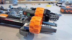 SHIPtember 2018 Day 19 (Swoosh Factor) Tags: ship shiptember spaceship lego wip space engine