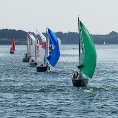 Bretagne - Golfe du Morbihan - (Noir et Blanc 19) Tags: bretagne golfedumorbihan bateaux voiliers mer sony a77