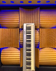 Vertical 🎹 (Pennan_Brae) Tags: musicphotography recordingsession recordingstudio musicstudio recording music synthesizer keyboards keyboard keyboardist