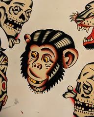 2018-02-24 08.30.39 1721837434612063957_182803505 (Aperrytattooer) Tags: traditional tattoo traditionaltattoo coleman skull bert grimm bertgrimm colemangirl colemanskull