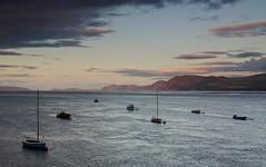 Last Light, Beaumaris. (A.Leighton Photography) Tags: sunset sea seascape boat boats beaumaris anglesey wales snowdonia water menai uk nikon d5100 lee