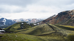 Velvet Hills (sarahjarne) Tags: landmannalaugar hills walking hiking landscape