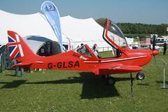 G-GLSA (IndiaEcho) Tags: gglsa ev97 eurostar popham eghp airport airfiel microlight fly on 2018 civil light general aviation aircraft aeroplane basingstoke hampshire england canon eos 1000d