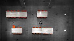 Myhal Centre Atrium II (Jack Landau) Tags: university toronto myhal centre atrium montgomery sisam architects feilden clegg bradley studios engineering innovation entrepreneurship architecture interior staircase skylight canada canon 5d jack landau ceiling geometric lines