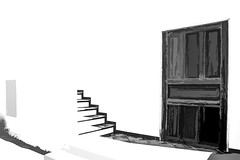 4837LTSLa    High Contrast Greece (foxxyg2) Tags: mono monochrome bw blackwhite doors stairs contrast highcontract chora naxos cyclades greece greekislands islandhopping islandlife silverefex niksoftware topax topazstudio topazsoftware
