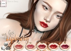 WarPaint* @ Uber August (Mafalda Hienrichs) Tags: warpaint war paint uber event release lipbalm lipstick lipgloss applier catwa lelutka omega genus makeup secondlife bento