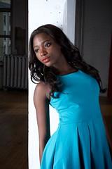 Ameera (Miguelski Photography) Tags: portrait beauty glamour fashion africanamerican ebony dress feminine woman black