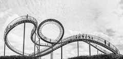 Tiger and Turtle - Magic Mountain (*Photofreaks*) Tags: tiger turtle magicmountain duisburg angerpark ruhr ruhrgebiet nordrheinwestfalen northrhinewestphalia nrw adengs wwwphotofreakseu clouds himmel sky wolken landschaft landscape landmarke halde stockpile panoramic panorama elitegalleryaoi bestcapturesaoi
