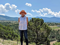 Solemn Jess on the High Road from Taos to Santa Fe (Riverwest) Tags: highroad taos santafe newmexico
