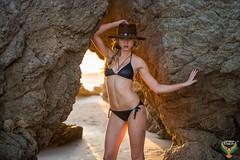 Beautiful Swimsuit Bikini Model Venus Malibu Sunset! Malibu Sea Cave Sunset Swimsuit Model Photoshoot! AF-S NIKKOR 70-200mm f/2.8G ED VR II! Pretty Blonde Hair Blue Eyes Fitness Model Abs! Epic Colorful Clouds Sunset! 45SURF 45EPIC dx4/dt=ic (45SURF Hero's Odyssey Mythology Landscapes & Godde) Tags: beautiful swimsuit bikini model venus malibu sunset sea cave photoshoot nikon d800 afs vr zoomnikkor 70200mm f28g ifed pretty blonde hair blue eyes fitness abs epic colorful clouds 45surf dx4dtic nikkor ed ii 45epic
