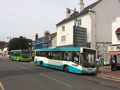 479s at Epsom (bobsmithgl100) Tags: busesexcetera j14 ae56 mdo ae56mdo dennis dart slf mcv evolution bus route479 clocktower highstreet epsom surrey