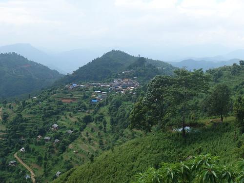 Voici le village que nous avons visité