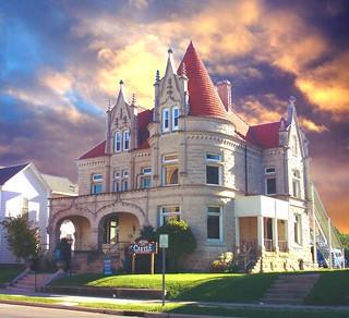 Van Wert   Ohio ~ The Castle ~ Historic Victorian Mansion