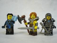 D3 - Heroes 1 (fdsm0376) Tags: lego figurines medieval fantasy diablo 3 blizzard