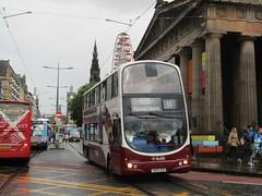 Lothian 775 SN56ADO Princes St, Edinburgh on 11 (1280x960) (dearingbuspix) Tags: 775 lothian lothianbuses transportforedinburgh sn56ado