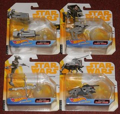 Hot Wheels - Star Wars Starships (Darth Ray) Tags: hot wheels star wars starships hotwheels starwars imperial patrol speeder first order atst bb8 bwing fighter atte