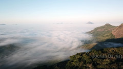 Mount Lico dawn - Cloud inversion taken from Mt Lico crater edge