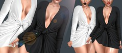 Wrap-Mini-Dress (Insomnia Store) Tags: cosmopolitan event exclusive insomnia original is wap minidress secondlife fashion avatar maitreya slink belleza