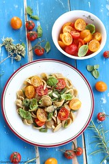 My favourite summer recipe (Giovanna-la cuoca eclettica) Tags: pasta primipiatti verdure veg vegetables summer season stagioni estate food stilllife