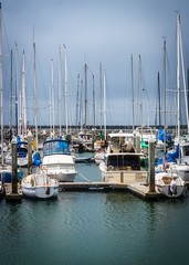 Pillar Point Harbor 02 (CDay DaytimeStudios w/1,000,000 views) Tags: beach boats ca california clouds coastline halfmoonbayca highway1 morningovercast ocean pacificcoast pacificcoasthighway pillarpoint pillarpointharbor water wharf yachts