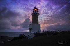 Punta Carretas Lighthouse (Luis Sousa Lobo) Tags: img07112 punta carretas faro lighthouse farol coast costa sunset mar de la plata uruguai uruguay montevideo canon 70d 1018 cokin filter