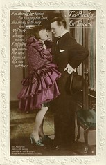 Colleen Moore and Neil Hamilton in Why Be Good (Truus, Bob & Jan too!) Tags: colleenmoore colleen moore flapper vintage postcard actor actress film cinema movies star screen 1920s american hollywood postkarte carte cine cartoline postale tarjet attrice actrice schauspielerin silent muto muet stummfilm neilhamilton whybegood firstnational 1929 british