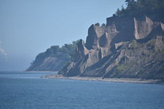 Chimney Bluff (kssrncid) Tags: lakeontario shore coastline coastal greatlakes chimeybluff water statepark seascape sand rock sculpture nature