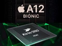 HiSilicon Kirin 980 et Apple A12 Bionic : un duel entre intelligence artificielle en comparaison (socialbuzzfr) Tags: tech apple a12 bionic hisilicon kirin 980