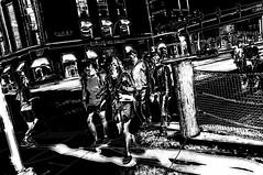 Smasher  !!! (imagejoe) Tags: vegas nevada strip street black white photography photos shadows reflections tamron people nikon