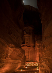 Petra Treasury at night (jacksonb97) Tags: petra night desert stars long exposure sony zeiss loxia 21mm jordan bedouin wadi rum hdr treasury