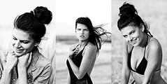 Paulina (kramerowa) Tags: portrait polishgirl blackandwhite bw outdoor kramerowa holiday model beach