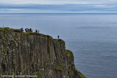 Standing On The Edge - Cliff Top The Giant's Causeway Northern Ireland... (william_young81@yahoo.co.uk) Tags: landscape seascape scenery giantscauseway northernireland tourism hiking clifftop