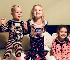 Halloween PJs (donna_0622) Tags: halloween brother sisters family pjs nikon d750