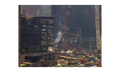 Lower Manhattan - 2001 (PhotoRapper (Michael)) Tags: 911 wtc pit 3ccd color digital video neverforget manhattan lowermanhattan tokathy worldtradecenter september112001 ccd ny nyc newyork newyorkcity sony theartofbeingruled ground zero